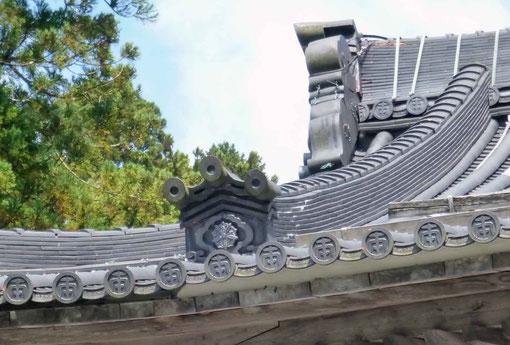 永平寺仏殿の瓦