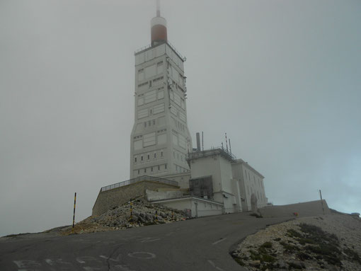 Mont Ventoux bei Sturm