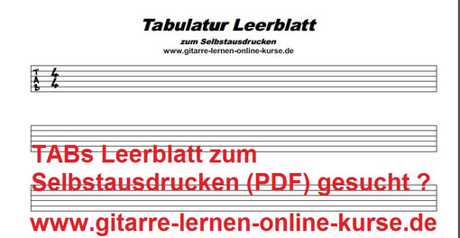 TABs-Leerblatt (Bitte unten stehendes PDF downloaden und ausdrucken !)