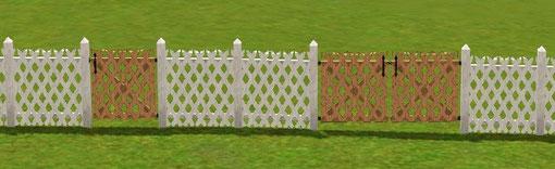 Barrière et portail