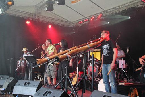 Reese live auf dem Lechwood Festival 2011