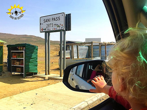 Sani Pass: von Südafrika über die Grenze nach Lesotho.