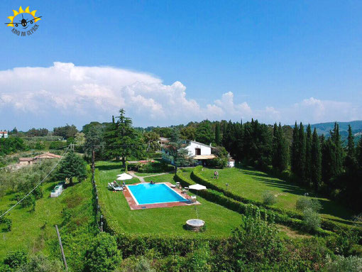 Unsere Villa in der Toskana für eine Woche.