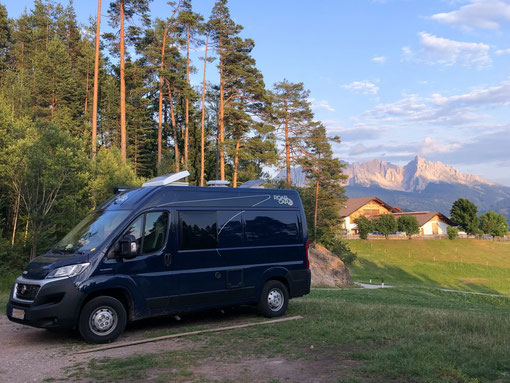 Stille Momente - unbezahlbar im Campingleben.