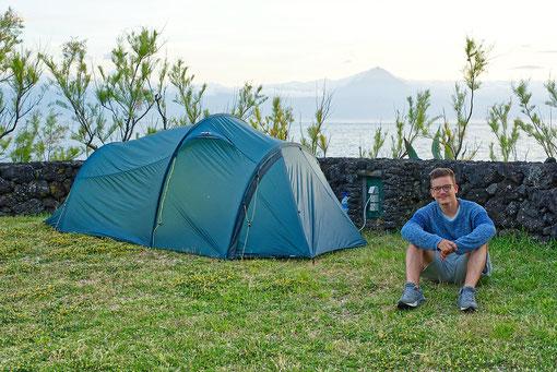 Ein wind- und wetterfestes Zelt als zweites Zuhause.