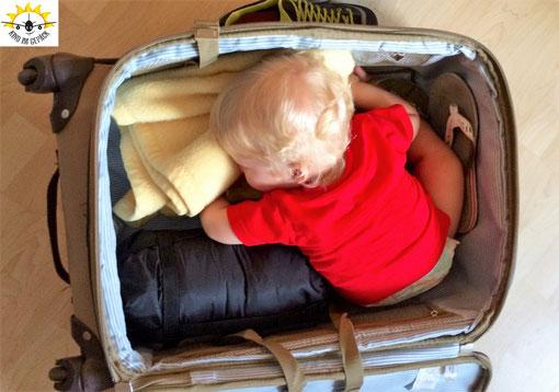 Tipps für das Koffer packen mit Baby.