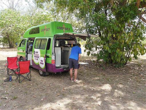 Mit dem Camper-Van durch Australien. So sieht´s aus.