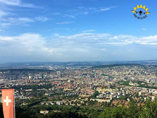 Zürich von oben: das geht nirgendwo besser als auf dem Uetliberg.
