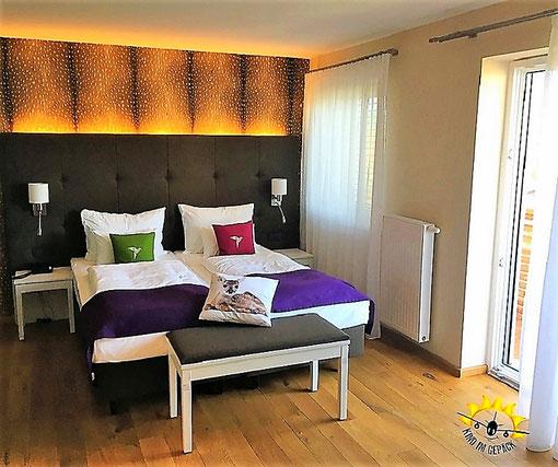 Geräumiges Zimmer für Familien mit Kindern im dasMEI.