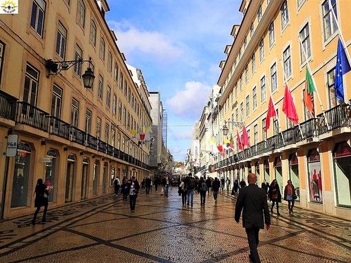 Die Fußgängerzone in Baixa.