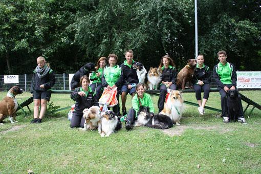 LuHu - THS - Team am 23. Juni beim HSV Neudorf