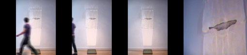 """""""reflexion"""" installation 200 cm.s."""