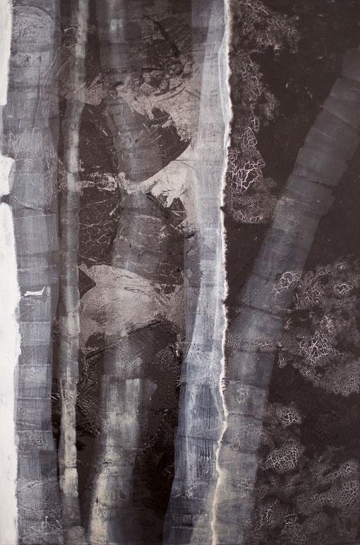 2011 I Grenzen des Wachsens I 140/100 I Acryl auf Leinwand