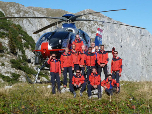 Mannschaftsfoto Alpine Einsatzgruppe