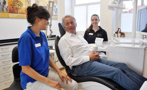 Persönliche Beratung in der Zahnarztpraxis Joanna Hartmann in Fritzlar