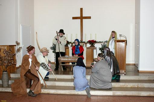 Krippenspiel Heiligabend 2012