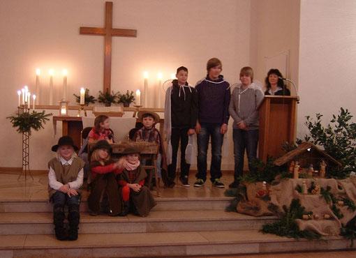 Unser Weihnachts- Familiengottesdienst 2010