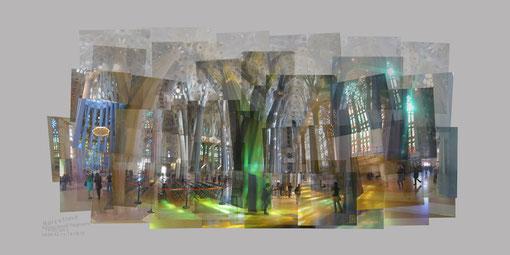 La Sagrada Familia - Quelques fragments de Gaudi - 19 04 2013 - copyright Anna Poulin