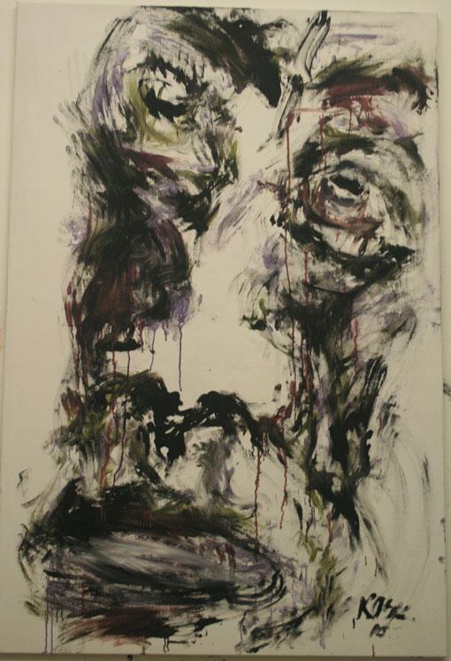 Martin, Öl auf Leinwand, 100x150