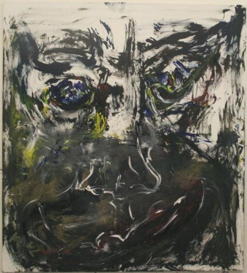 verborgen, Öl auf Leinwand, 135x150