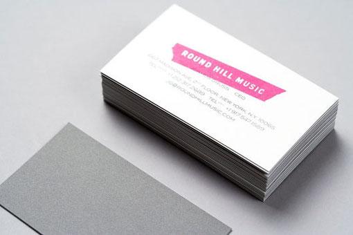 Дизайн визитной карточки цена