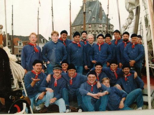 Shantychor Ippinghausen - 1994  Segeltörn auf dem Isselmeer