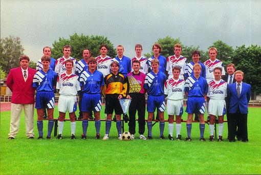 B-Liga Meister 1994/95, Aufstieg in die A-Liga