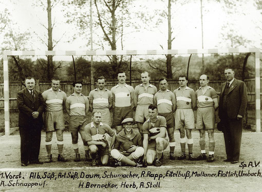 Meistermannschaft 1938/39, Aufstieg in die Bezirksliga