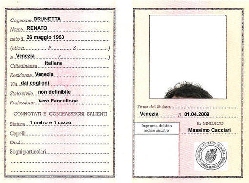 gli ultimi sucessi di Brunetta, hanno stizzito l'antico nemico Cacciari