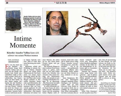 Mallorca Magazin: Amador Vallina