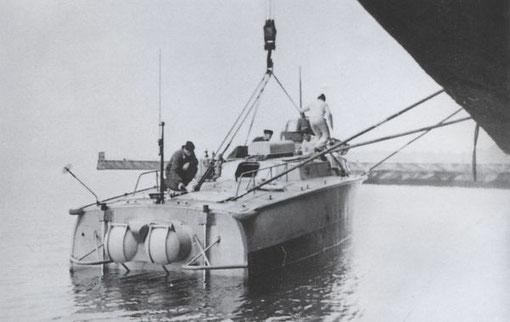 """""""LS-7"""" in der Ägäis - Bilder: Sammlung P. Schenk"""