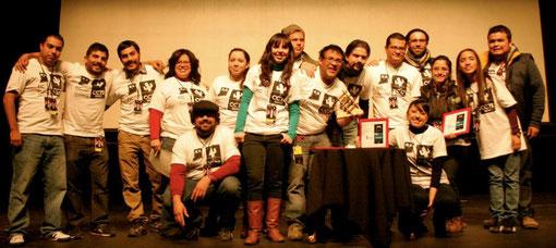 Staff del Segundo FIC Vagón 2011
