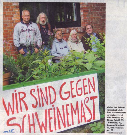 Bericht über die Bürgerinitiative im Hamburger Abendblatt 04.07.2011