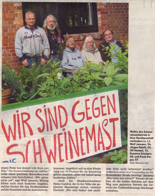 Hamburger Abendblatt  04.07.2011