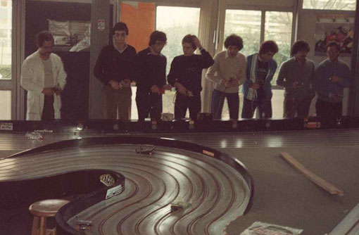 Slot racing Bordeaux 1/24 1982