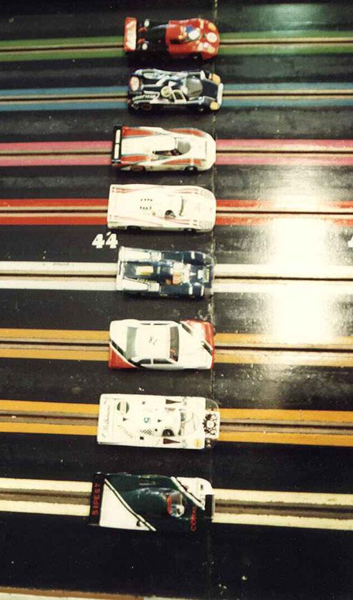 Grille de départ des 6 heures de Berck 1986