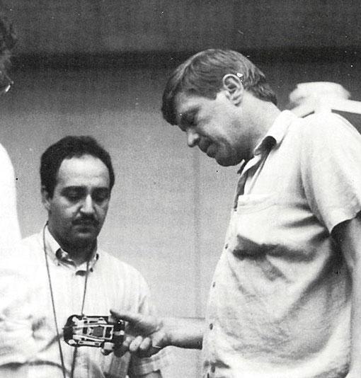 Jean-Claude Éhinger et Hans Van Es