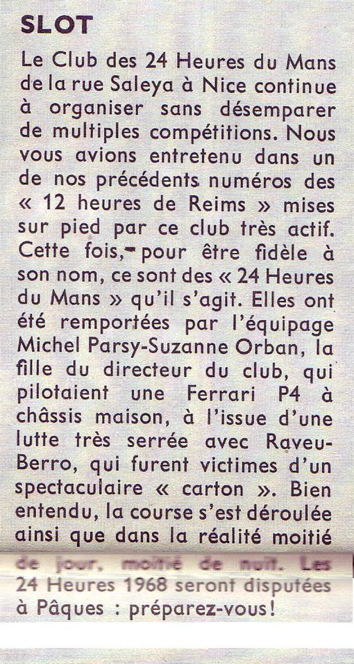 Revue Champion n° 27 Mars-Avril 1968