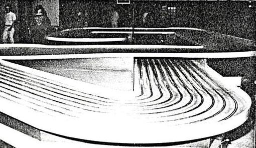 La piste 10 voies de Big-Ben lors des 24 heures de Mollerusa 1986