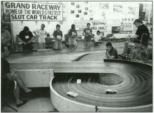 Chicago 1988 La piste blue-king. Martin Gramann à droite.