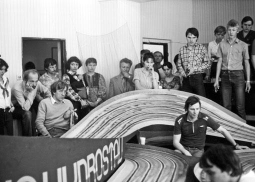 Bratislava 1981 : Martin Gramann assis à gauche