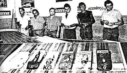 Sport: Paolo Niccolaï, Giovanni Montiglio, Pietro Razzano, Marino San José, Jean-Claude Malherbe, Josep Armengol;
