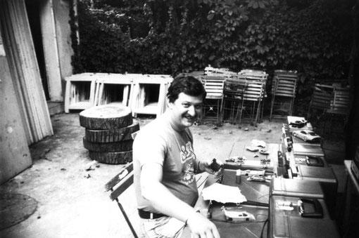 Dominique Bellenger au championnat d'Europe à Agen en 1988 ( photo Miguel Pascual )