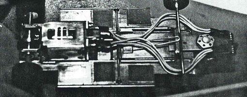 Le Châssis de Silvio Giacobbi, vainqueur en Formule un