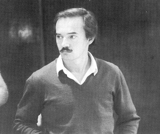 Giovanni Montiglio vice champion d'Italie 1984 de slot racing 1/32 Sport-Europe
