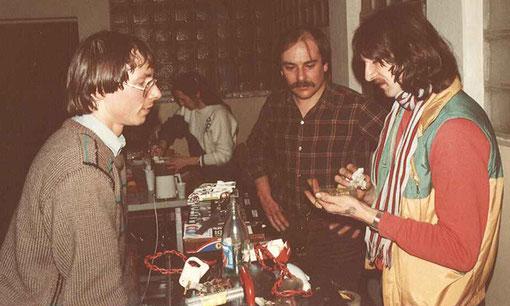 Fred Warnant, Serge Trécul et Michel Thoumieu