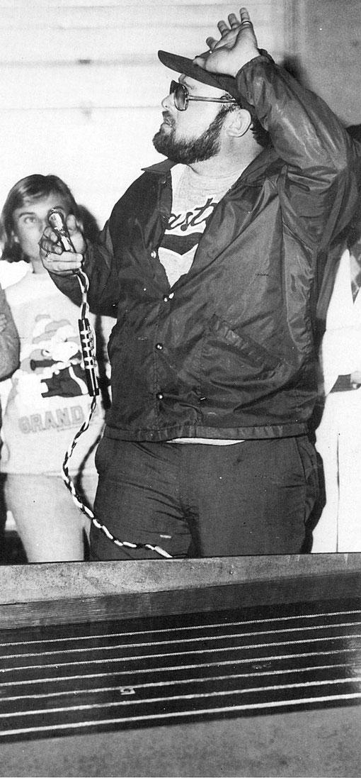 Henry Pena Champion 1985 des États-Unis de slot racing 1/24 group 7