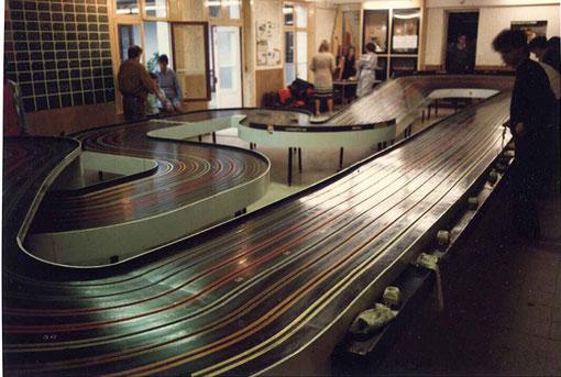 La piste de slot racing de Berck le 5 octobre 1986