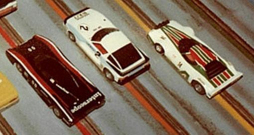Lola T600 de François Callat, Mazda RX7 de Philippe Point, Lancia Stratos de Joël Havé