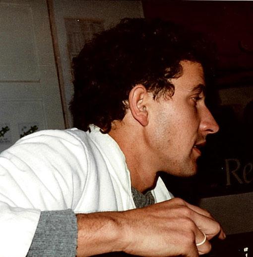 Gérard Caupène au poste de marshall au C.F. d'Isle sur Sorgue 1983